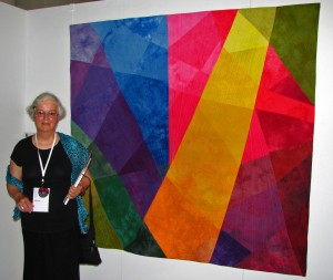 "Melisse & ""Seeing the Light"" at opening"