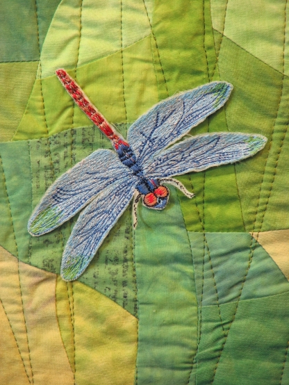 Dragonflies on Parade (detail)